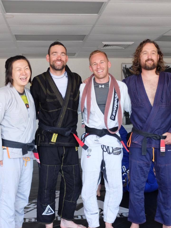 Congrats to Andy Lushman, our newest black belt | Mile High